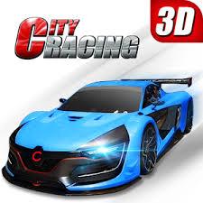 تحميل لعبة سيارات City Racing apk مهكرة للاندرويد
