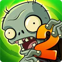 لعبة Plants vs Zombies 2مهكرة للأندرويد
