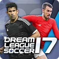 لعبة Dream League Soccer 2017  مهكرة