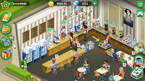 لعبة my cafe: recipes مهكرة للايفون
